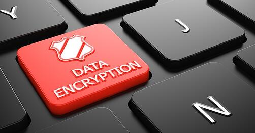 Data Encryption with Shield Icon on Red Button on Black Computer Keyboard.-1.jpeg