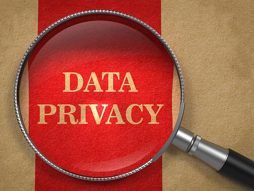 Data Privacy. Magnifying Glass on Old Paper with Red Vertical Line.-1.jpeg